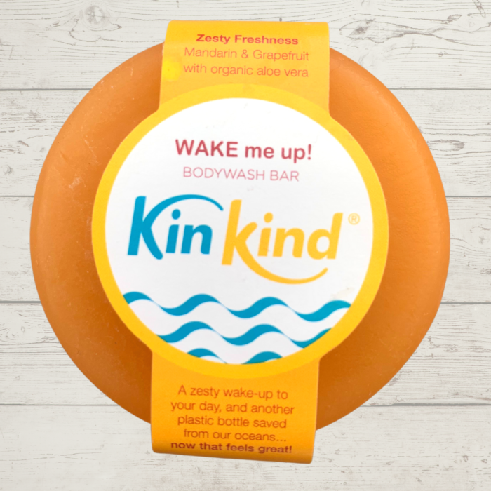 KinKind Body Wash Bar WAKE me up!