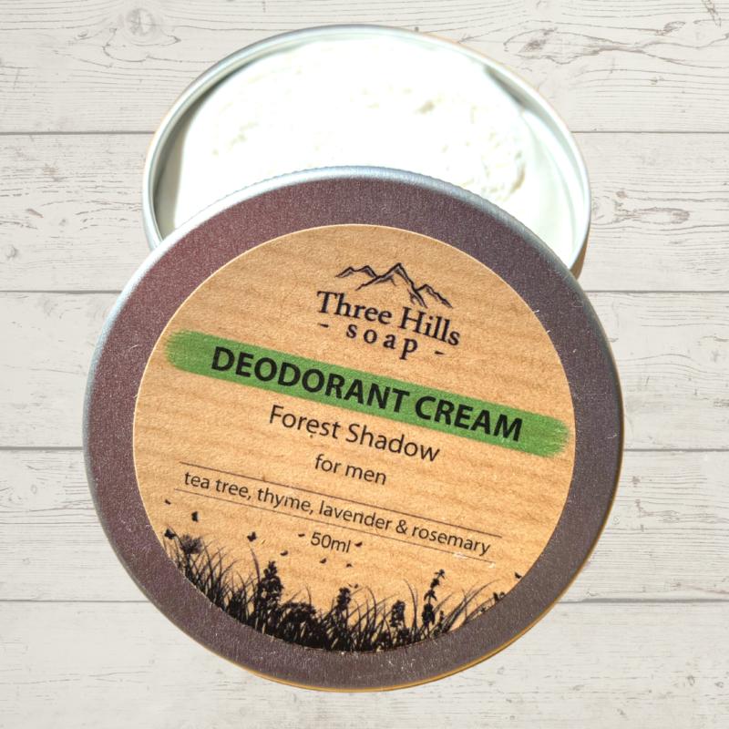 Three Hills Deodorant Cream Forest Shadow