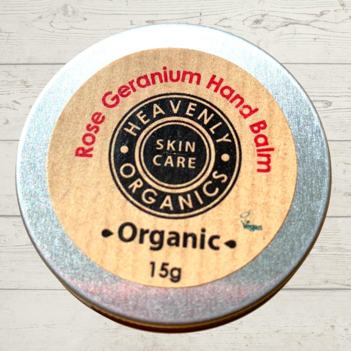 Heavenly Organics Rose Geranium Hand Balm