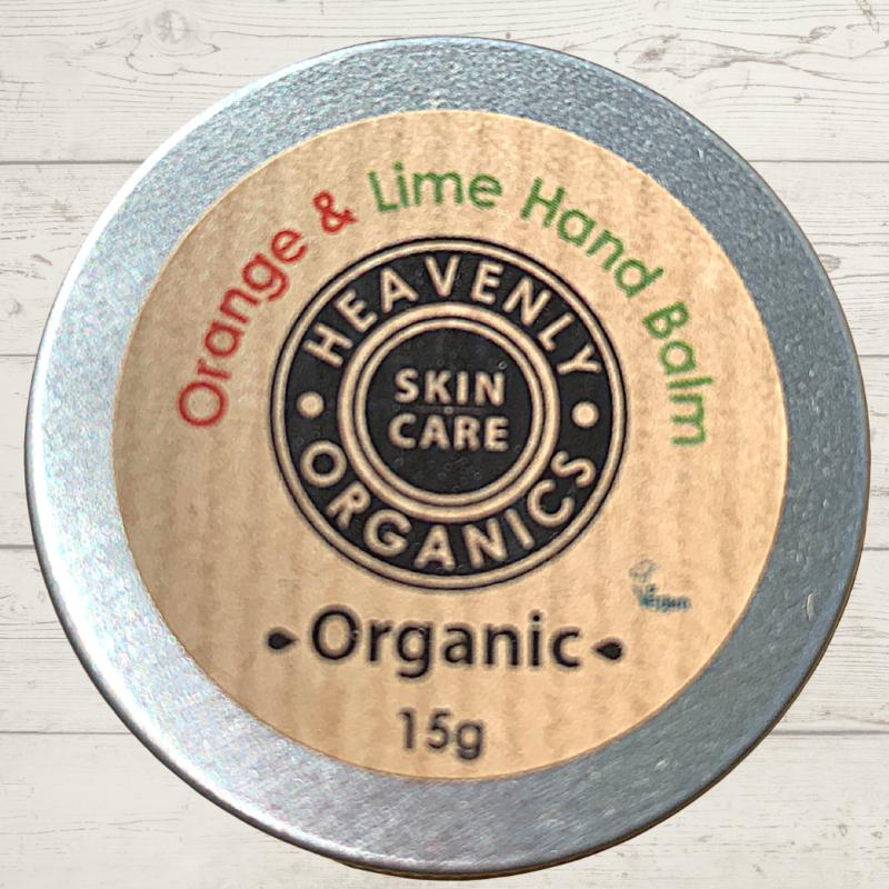 Heavenly Organics Hand Balm Orange and Lime