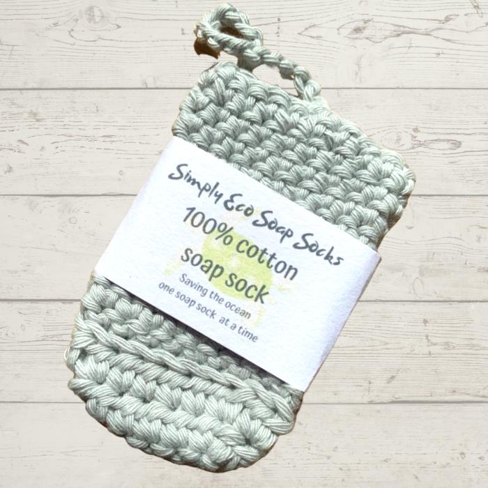 Simply Eco Soap Sock Grey