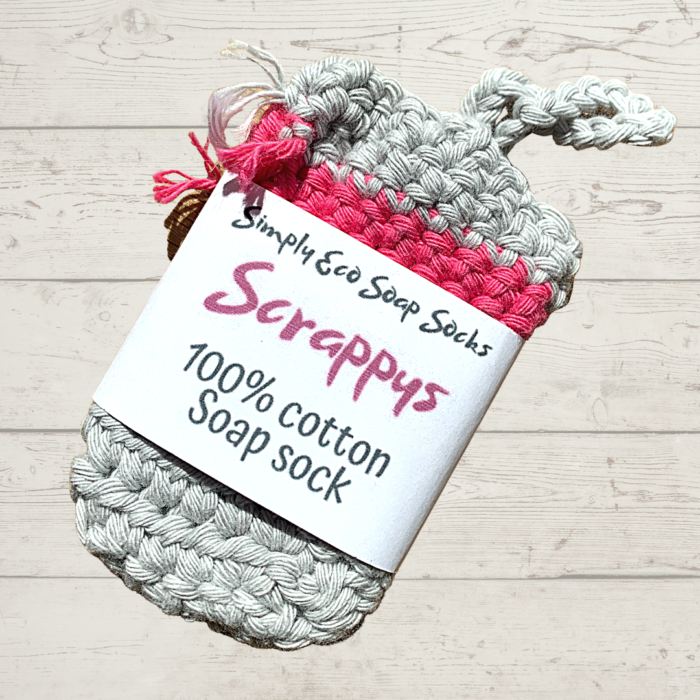 Simply Eco Soap Socks Scrappy