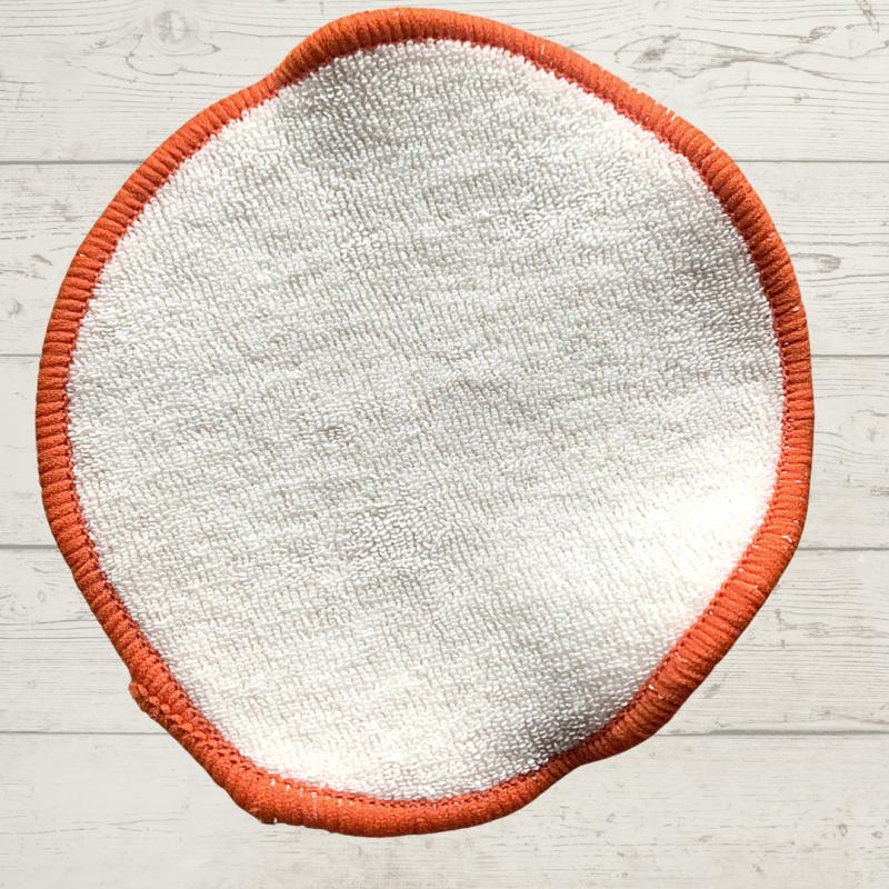 Eco Living Reusable Face Wipe Orange
