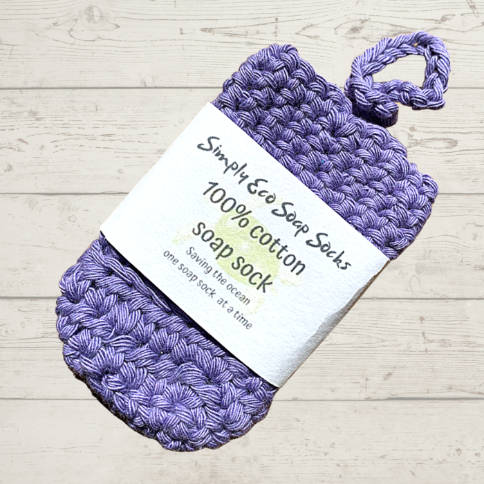 Simply Eco Soap Socks Purple