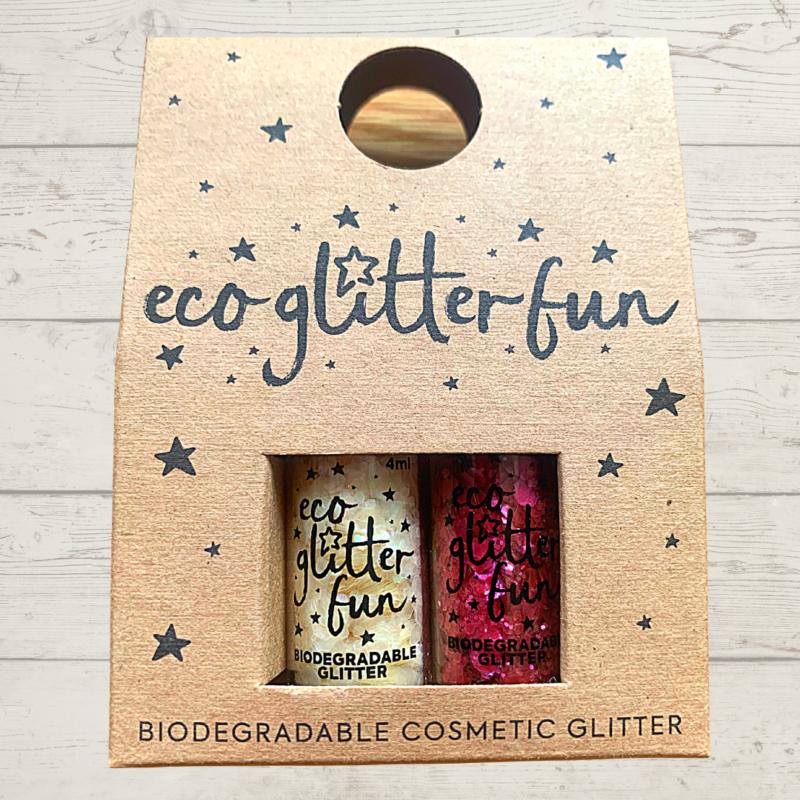 Eco Glitter Fun Milky Way and Framboise